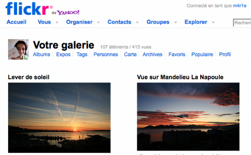 Compte Flickr Pro