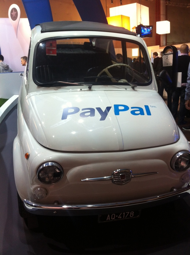 Fiat 500 Paypal
