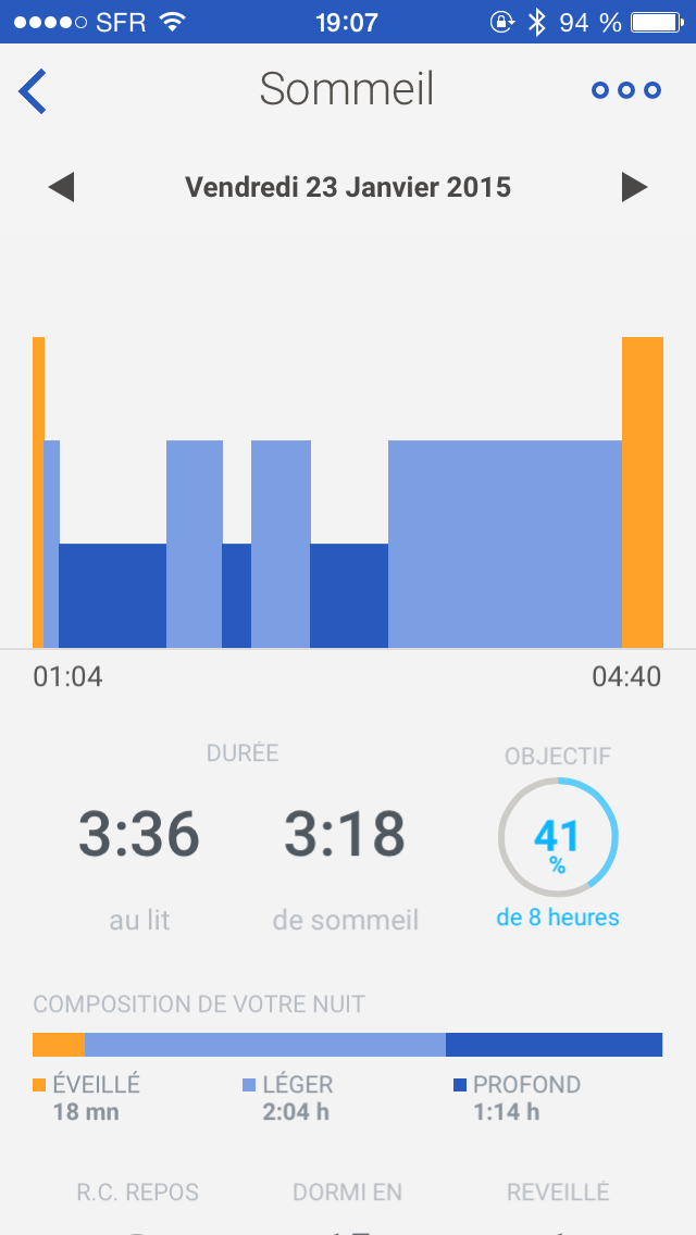 Activité Pop Withings