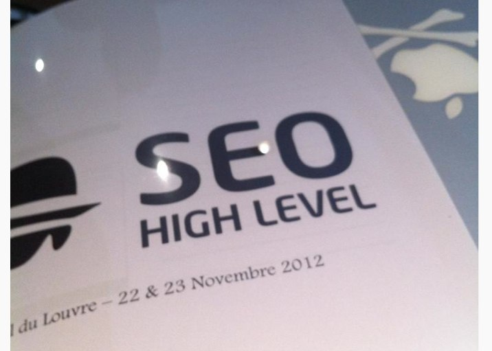 De retour du Seo High Level