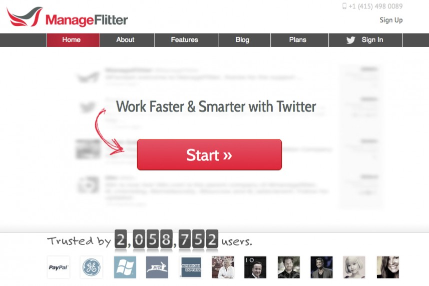Manage Flitter